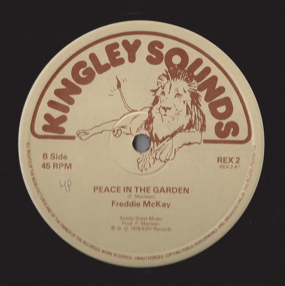 Freddie Mckay - Peace In The Garden (Kingley Sounds) (CRUCIAL CUTS)